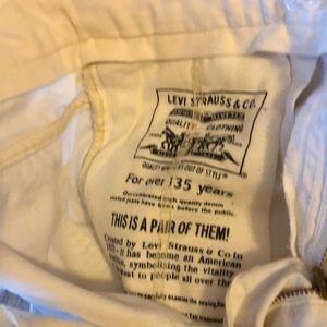 Levi's Jeans - White jeans Levi Strauss